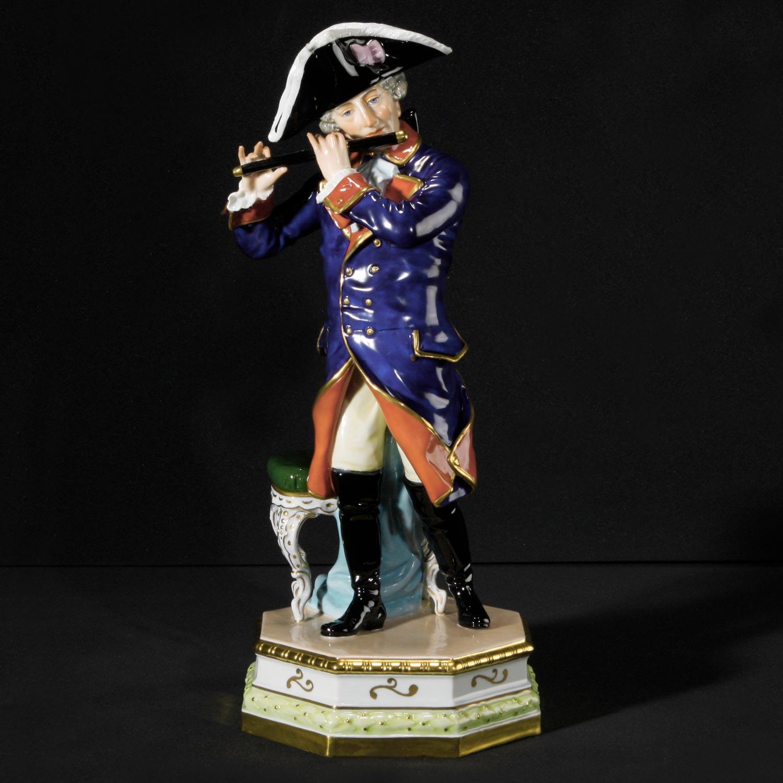 Friedrich der Große mit Flöte
