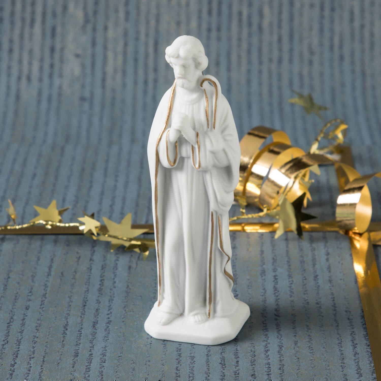 Krippenfigur, Josef, stehend