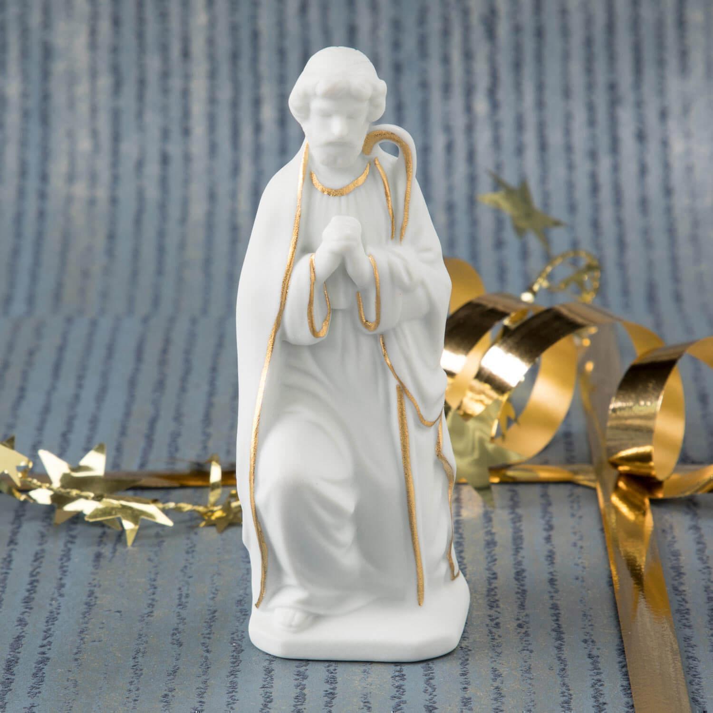 Krippenfigur, Josef, kniend