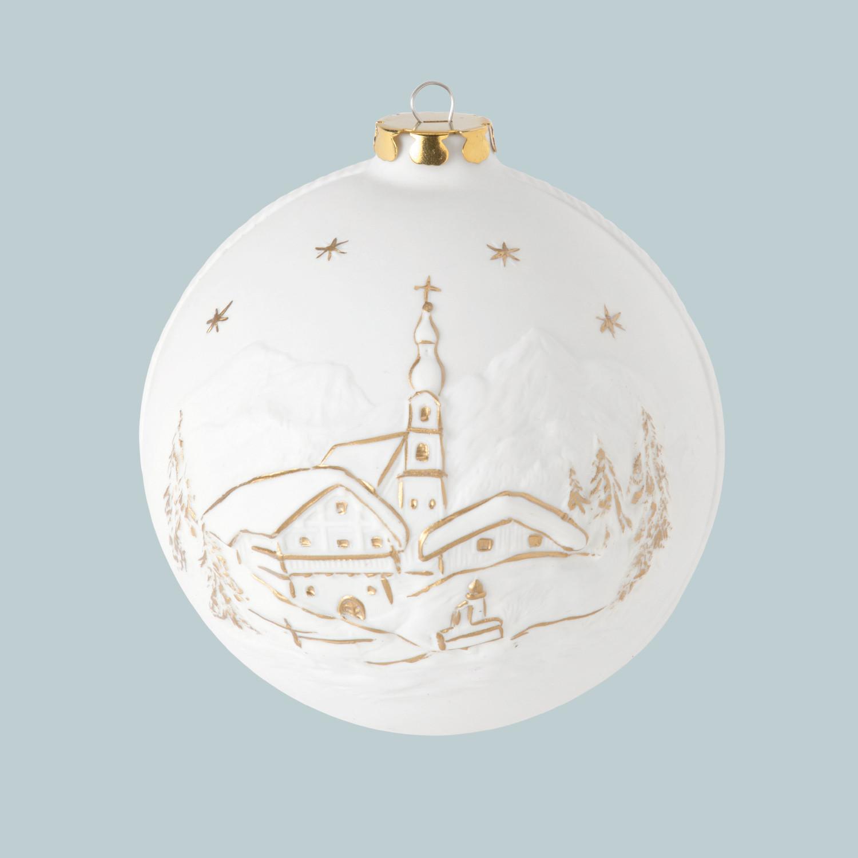 Weihnachtskugel, Kirche, Marterl
