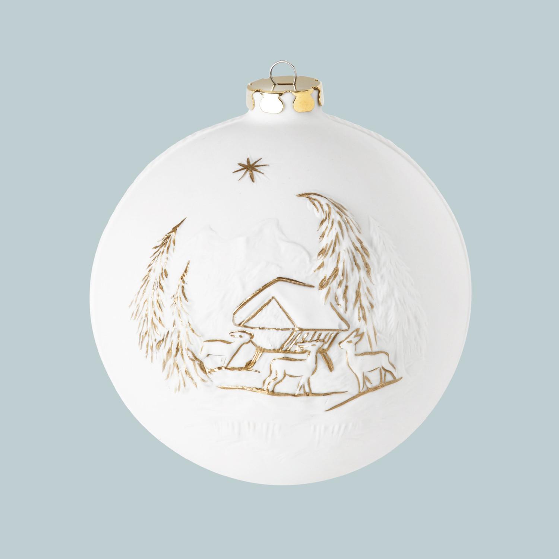 Weihnachtskugel, Wildfütterung, Mühle