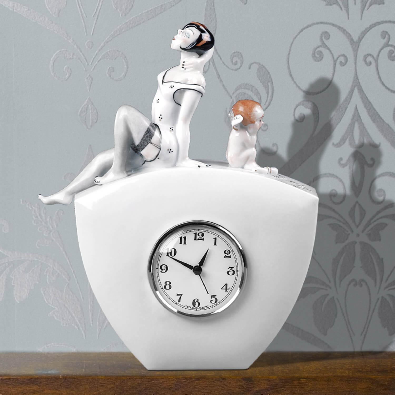 Uhr mit Uhrwerk