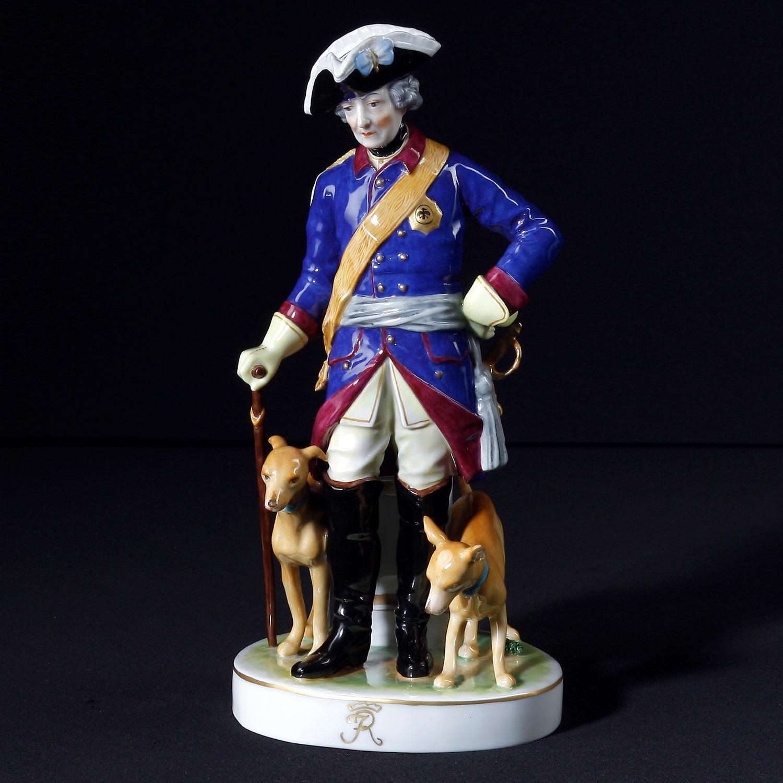 Friedrich der Große mit Hunden