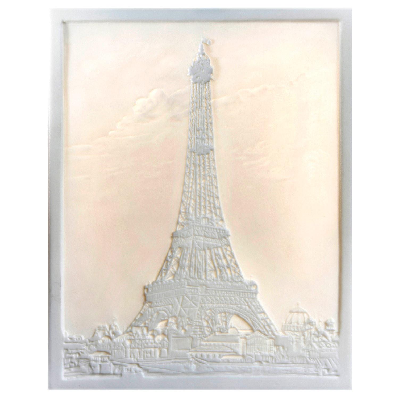 Lithophanie-Platte Der Eiffelturm