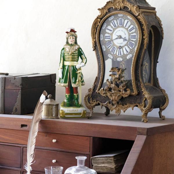 "Porzellanfigur ""Murat"" aus glasiertem Porzellan, farbig dekoriert"