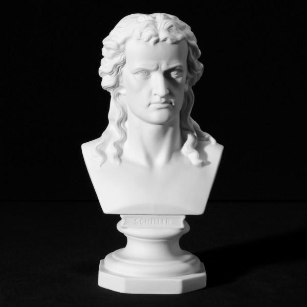 """Büste """"Friedrich Schiller"""" aus Bisquitporzellan"""
