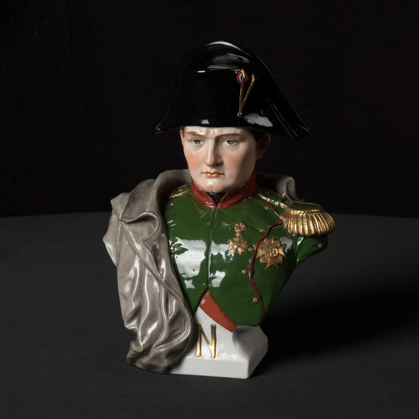 "Porzellanbüste ""Napoleon"" groß"