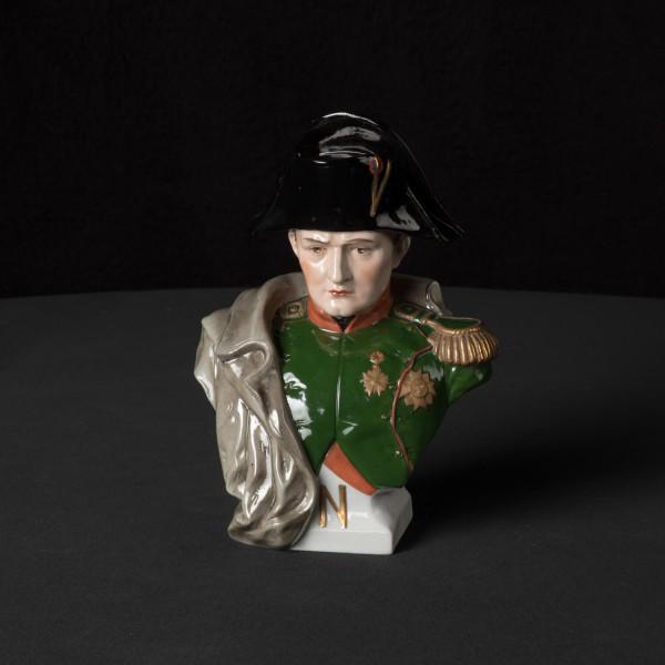 "Porzellanbüste ""Napoleon"" mittel"