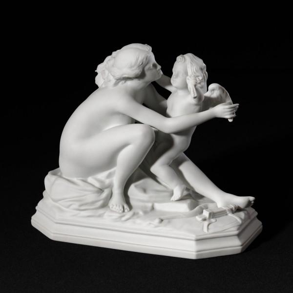 """Porzellanfigur """"Venus"""" aus Bisquitporzellan"""
