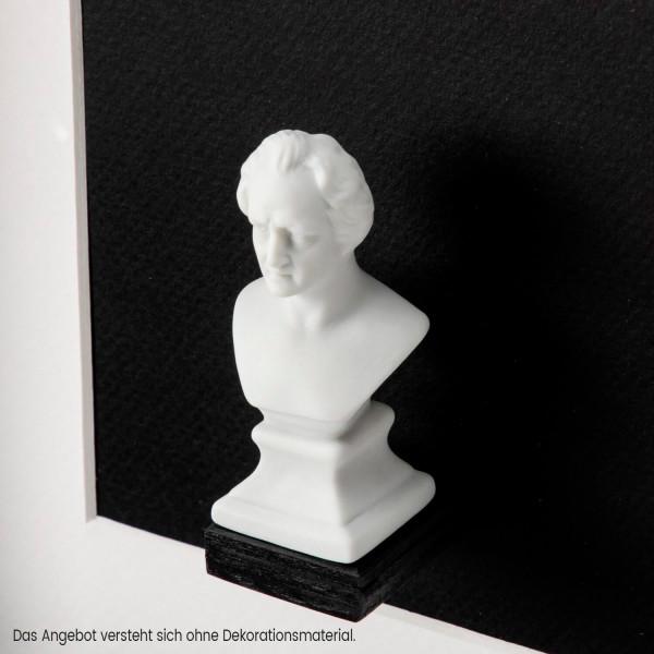 """Büste """"Johann Wolfgang von Goethe"""" aus Bisquitporzellan"""