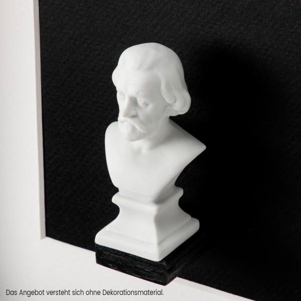 """Büste """"Giuseppe Verdi"""" aus Bisquitporzellan"""