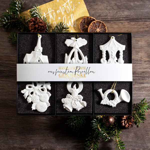 Set Weihnachtsanhänger