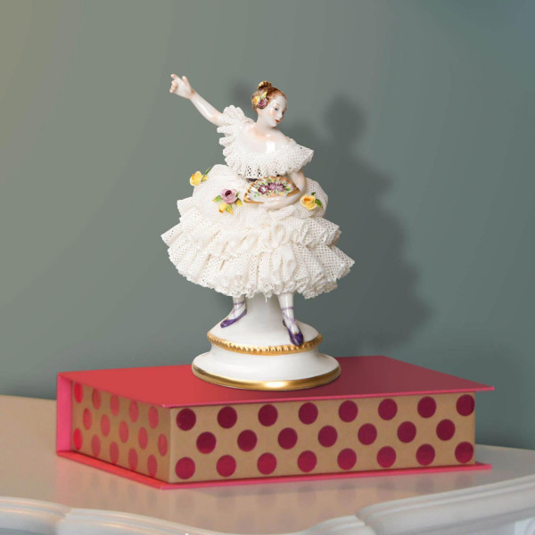 "Porzellanfigur ""Fanny Elssler"" klein"
