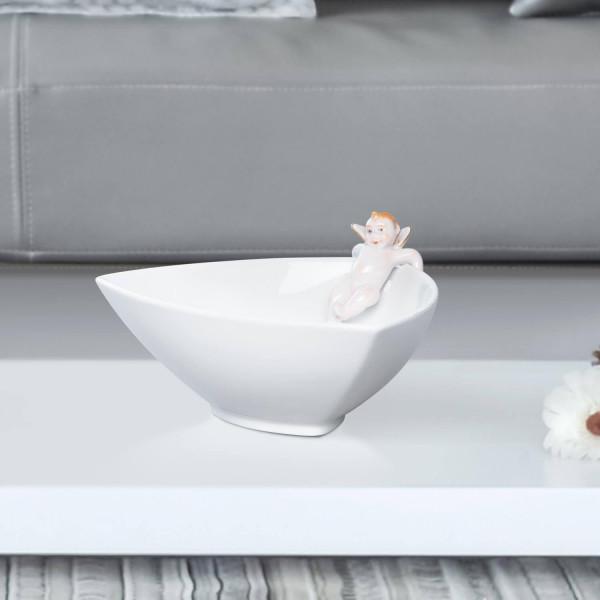 """Porzellanschale """"Eros"""" klein von Kati Zorn aus glasiertem Porzellan"""