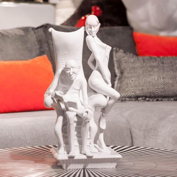 """Porzellanfigur """"Weisheit & Jugend"""" von Kati Zorn aus glasiertem Porzellan"""