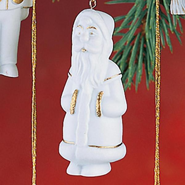 """Porzellan Weihnachtsanhänger """"Weihnachtsmann"""""""