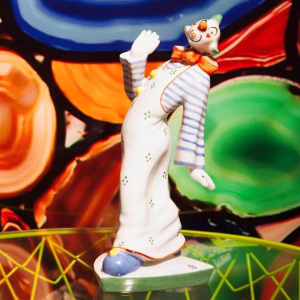 """Porzellanfigur """"Clown"""" von Kati Zorn aus glasiertem Porzellan"""