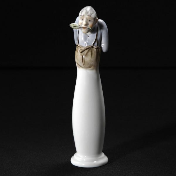 """Porzellanfigur """"Der Kritikus"""" von Kati Zorn aus glasiertem Porzellan"""