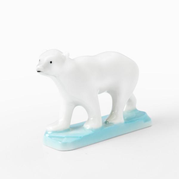 """Porzellanfigur """"Eisbär"""" von Kati Zorn aus glasiertem Porzellan"""