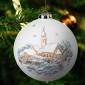 Weihnachtskugel, Alte Mühle, Dorfkirche