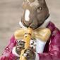 Hase mit Flöte