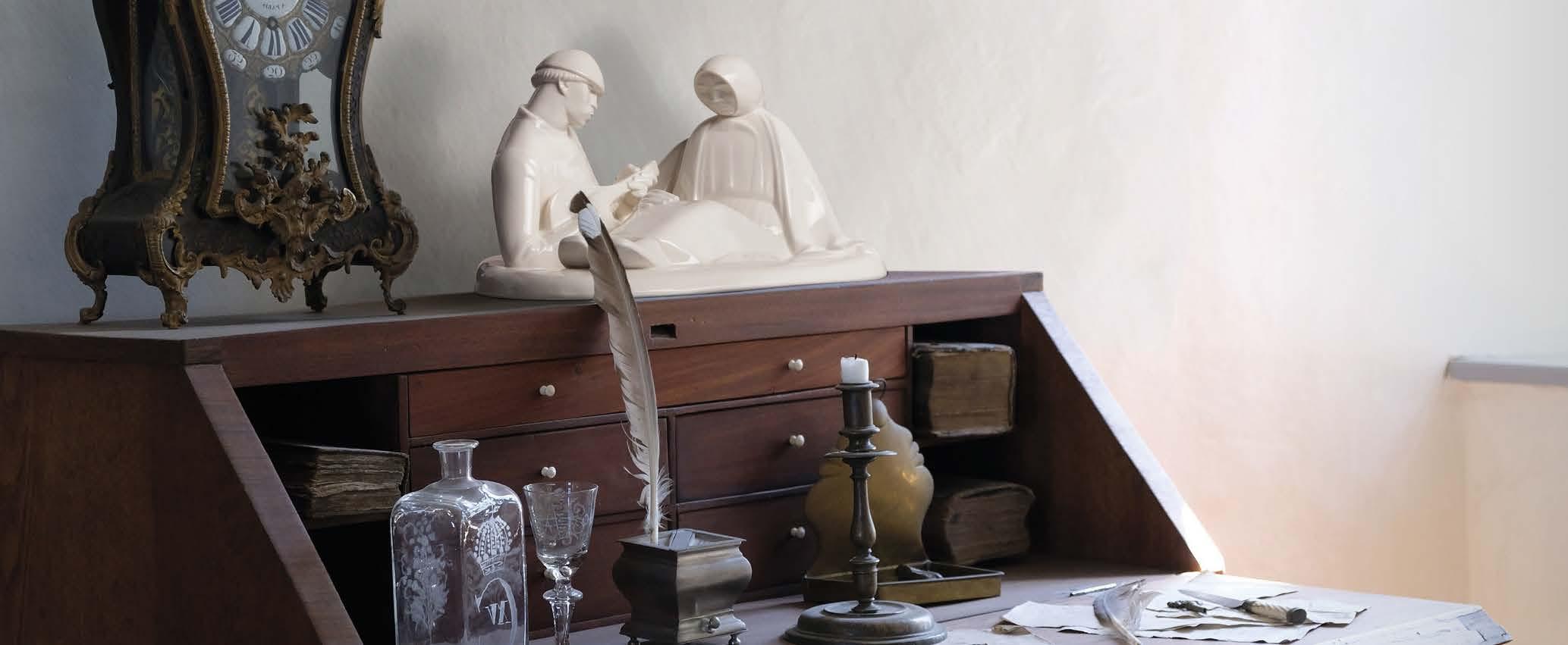 Porzellanskulptur russisches Liebespaar
